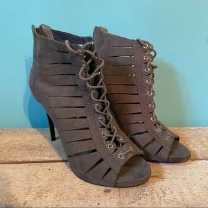 Guess lace up stiletto shoes